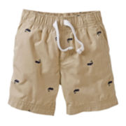 Carter's® Whale Print Shorts - Boys 2t-4t