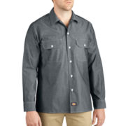 Dickies® Button-Up Chambray Shirt-Big & Tall