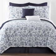 Liz Claiborne® Eden 4-pc. Comforter Set & Accessories