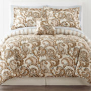 Crestwood 7-pc. Paisley Complete Bedding Set with Sheets Collection