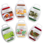 Candle Warmers™ Set of 6 Wax Melts – Holiday Scents