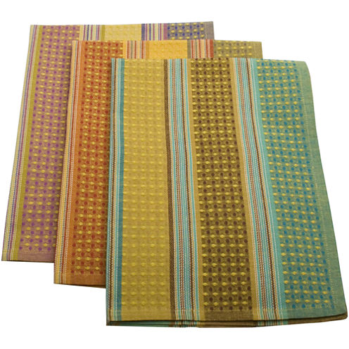 Jardin Set of 3 Dish Towels