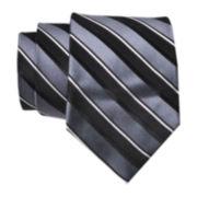 Stafford® Derby Stripe Silk Tie