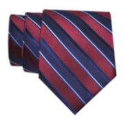 Stafford® Derby Stripe Silk Tie
