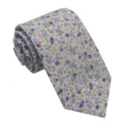 Stafford® Floral Cotton Tie