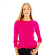 Joe Fresh™ Long-Sleeve Crewneck Top