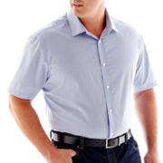 Claiborne Short-Sleeve Woven Shirt-Big & Tall