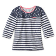Arizona Print Block Tee - Girls 6-16