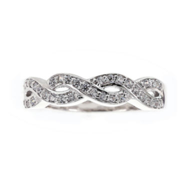 jcpenney.com | DiamonArt® Cubic Zirconia Sterling Silver Infinity Ring