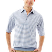 Palmland® Knit Banded Bottom Polo