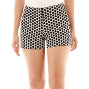Worthington® Career Modern Print Shorts - Tall