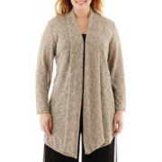 Alyx® Long-Sleeve Cardigan Sweater Cozie - Plus