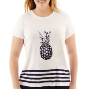 Alyx® Short-Sleeve Pineapple Knit Tee - Plus