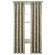 MarthaWindow™ Hampton Leaf Rod-Pocket/Back-Tab Curtain Panel