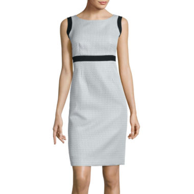 jcpenney.com | Black Label by Evan-Picone Sleeveless Contrast Sheath Dress