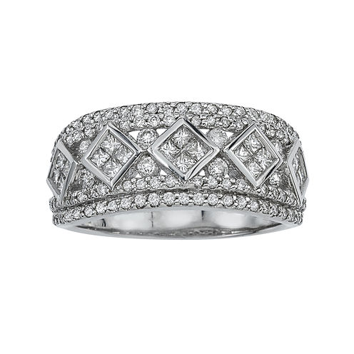 LIMITED QUANTITIES 1 1/4 CT. T.W. Diamond 14K White Gold Ring