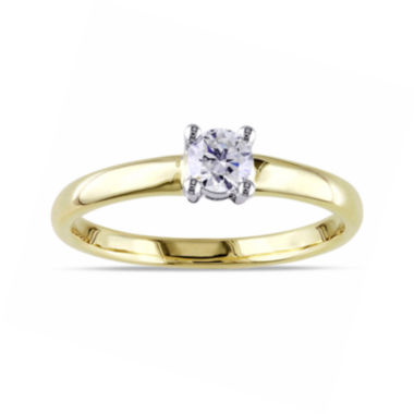 jcpenney.com | LIMITED QUANTITIES 1/4 CT. T.W. Diamond 14K Gold Ring