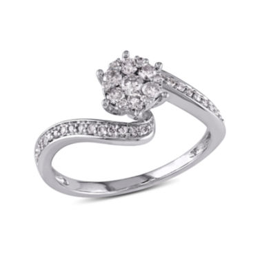 jcpenney.com | LIMITED QUANTITIES 1/3 CT. T.W. Diamond 14K White Gold Ring