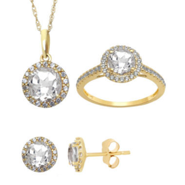 jcpenney.com | Lab Created White Sapphire Earrings, Pendant Or Ring