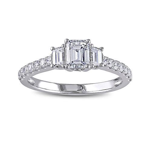1¼  CT. T.W. Diamond 14K White Gold Engagement Ring