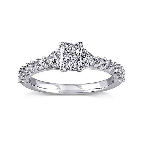 1 CT. T.W. Diamond 14K White Gold Ring
