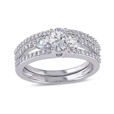 jcpenney.com | 1 1/10 CT. T.W. Diamond 14K White Gold Ring Set