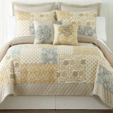 jcpenney.com | Home Expressions™ Isabel Quilt & Accessories