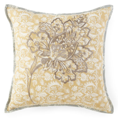 "jcpenney.com | Home Expressions™ Isabel 16"" Square Decorative Pillow"