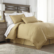 Royal Velvet® 400tc Damask Stripe Egyptian Cotton Comforter Set & Accessories
