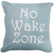 Park B. Smith® No Wake Zone Decorative Pillow