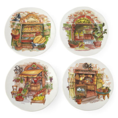 jcpenney.com | JCPenney Home™ Italian Market Set of 4 Salad Plates