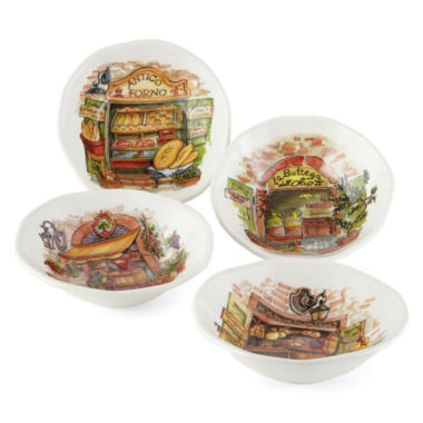 jcpenney.com | JCPenney Home™ Italian Market Set of 4 Pasta Bowls