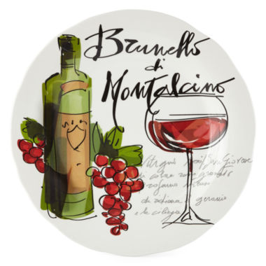 jcpenney.com | JCPenney Home™ Wine Cellar Round Serving Platter