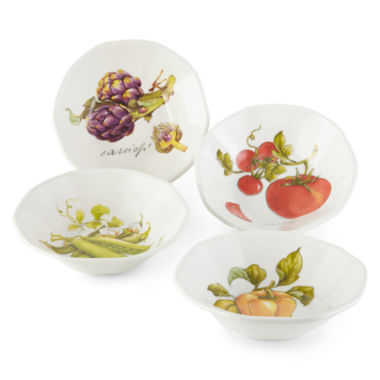 jcpenney.com | JCPenney Home™ Veggies Set of 4 Pasta Bowls