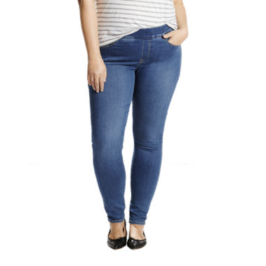 jcpenney.com | Levi's® Perfectly Slimming Pull-On Leggings - Plus