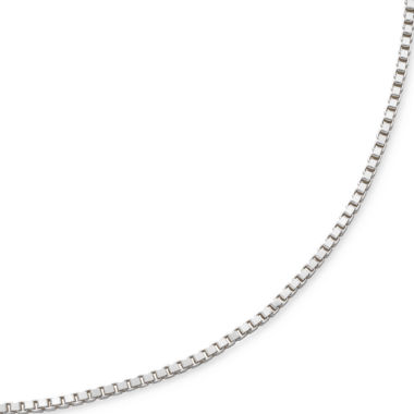 "jcpenney.com | 18"" Venetian Box Chain Sterling Silver"