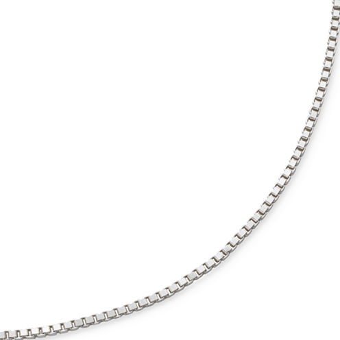 "Made in Italy 18"" Venetian Box Chain Sterling Silver"