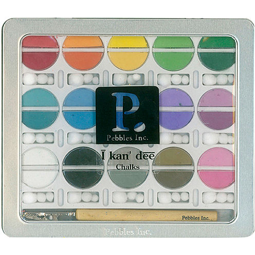 I Kan dee Chalk Set Basic Brights