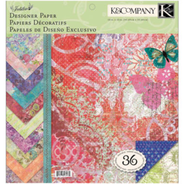 "jcpenney.com | Jubilee Designer 12 x 12"" Paper Pad"