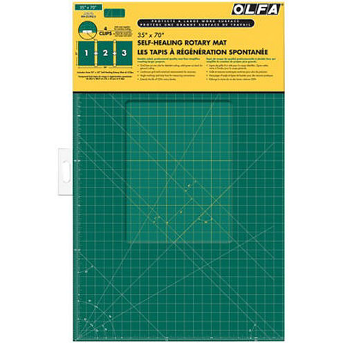 Olfa Gridded Clipped Cutting Mat Set