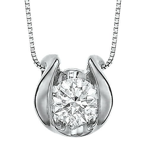 Sirena™ ¼ CT. Diamond Solitaire Pendant Necklace