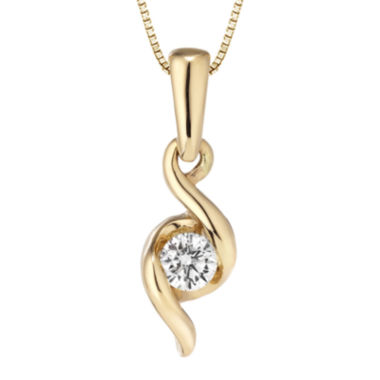 jcpenney.com | Sirena™ Diamond-Accent Solitaire Pendant Necklace