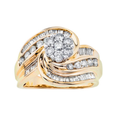 jcpenney.com | 1¼ CT. T.W. Diamond Swirl Ring