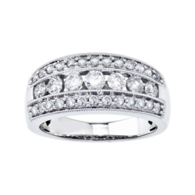 jcpenney.com | 1 CT. T.W. Diamond 10K White Gold Band
