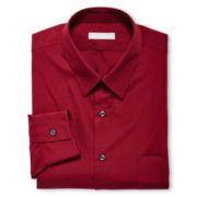 Van Heusen® Poplin Fitted Dress Shirt