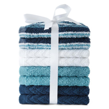 jcpenney.com | 8-pk. Washcloth Set