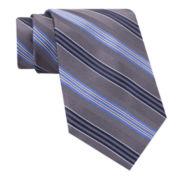 Stafford® Mike Stripe Silk Tie