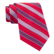 Stafford® Mike Stripe Silk Tie