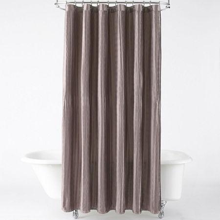 UPC 080166115343 Product Image For Royal Velvet Crashed Waves Shower Curtain