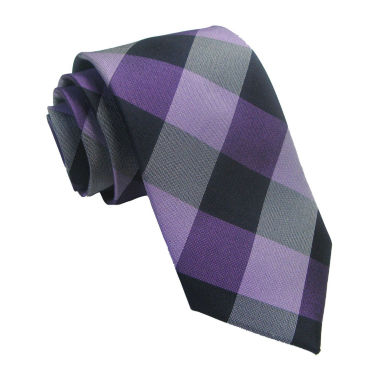 jcpenney.com | Stafford® Buffalo Plaid Necktie